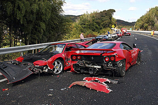 The Most Expensive Car Crash