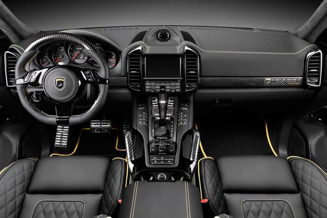TopCar Porsche Cayenne II Vantage Carbon Edition (Interior)