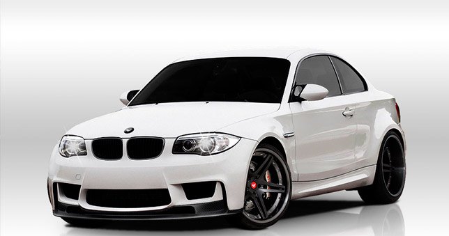 2012 Vorsteiner BMW 1-Series M Coupe GTS-V