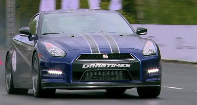 Used Car Lots >> Nissan GT-R AMS Alpha 12 - 347 km/h on 1 mile [video]