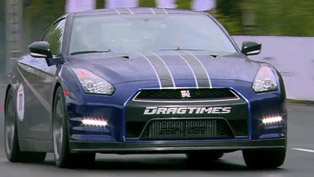 Nissan GT-R AMS Alpha 12 - 347 km/h on 1 mile [video]