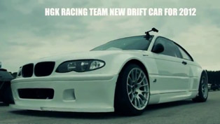 HGK BMW E46 Drift Car for 2012 season [video]