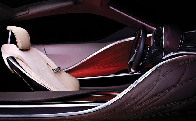 New 2012 Lexus Concept Interior