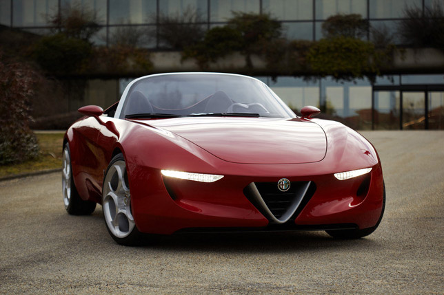 Alfa Romeo Pininfarina 2uettottanta (2011)