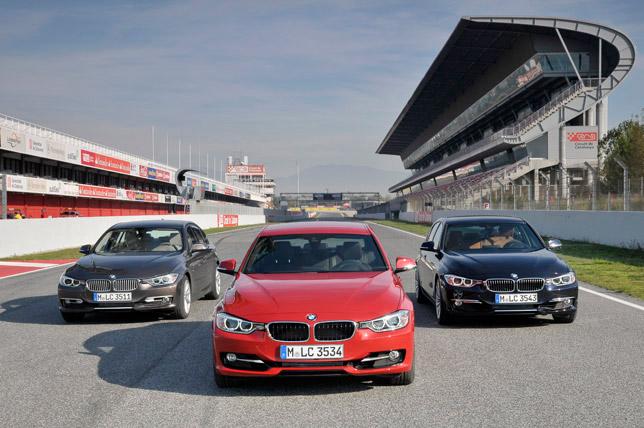 2012 BMW 3-Series F30