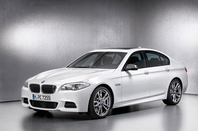 BMW M550d xDrive (2012)