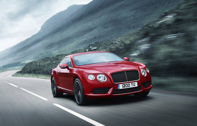2012 Bentley CONTINENTAL V8 Range