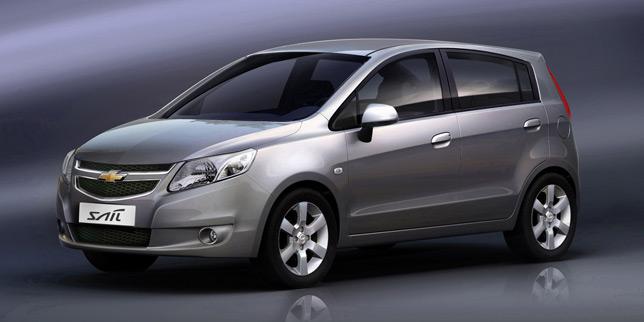 2012 Chevrolet Sail Hatchback