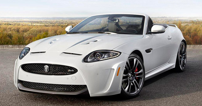 2012 Jaguar XKR S Convertible