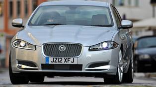 2012 Jaguar XF SE Business & Sport models