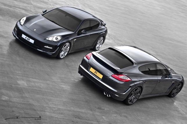 2012 Kahn Porsche Panamera wide-track edition
