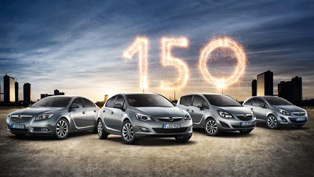 opel marks 150 years of existence