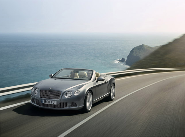 2012 Bentley Continental Gtc Convertible And Bentley Mulsanne At The