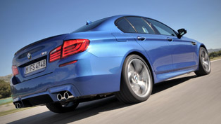 BMW F10 M5 around Circuit de Nevers Magny-Cours [video]