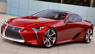 LF-LC Sport Coupe Concept Big Hit in Detroit