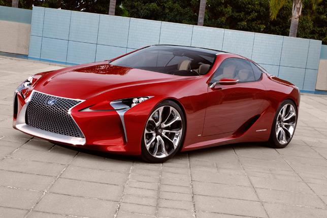 Lexus LF-LC Sport Coupe Concept
