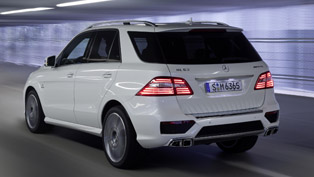 2012 Mercedes ML 63 AMG Price - €108 885