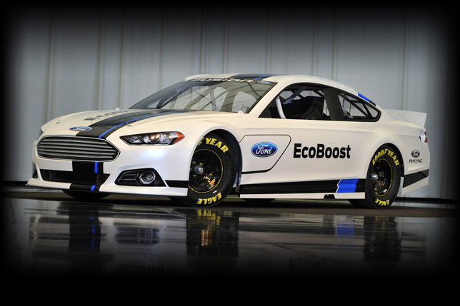 New 2013 Ford Fusion NASCAR Sprint Cup Car