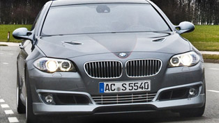 AC Schnitzer ACS5 Sport S based on BMW F10 550i [HD video]