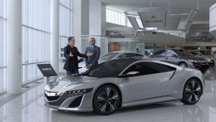 2012 Acura NSX Concept Commercial for Super Bowl XLVI [VIDEO]