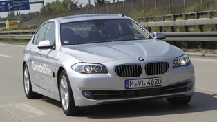 BMW highly automated driving mode [HD video]