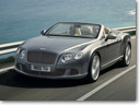 2012 Bentley Continental GTC Convertible and Bentley Mulsanne at the Qatar International Motor Show