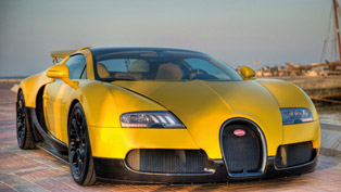 bugatti veyron 16.4 grand sport at qatar international motor show