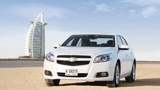 Chevrolet Malibu driven 1 million test miles across globe