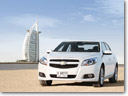 Chevrolet Malibu driven 1 million test miles across globe