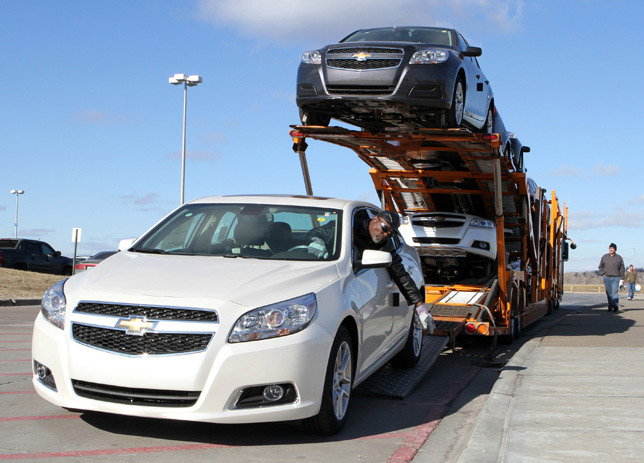 2013 Chevrolet Malibu Eco is Ready for Delivery to Dealers