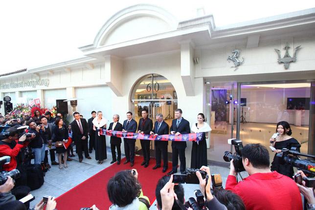 Ferrari Maserati New Showroom Opening in Hong Kong