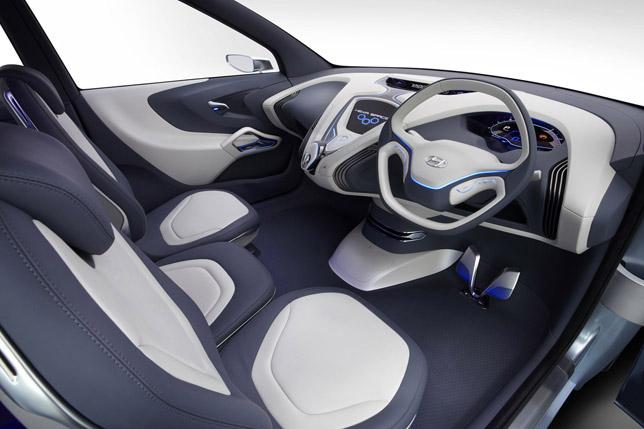 Hyundai Hexa Space Concept Interior