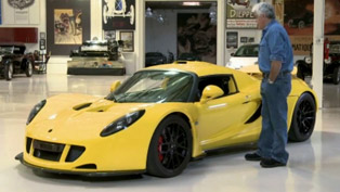 2012 Hennessey Venom GT at Jay Leno's Garage [VIDEO]
