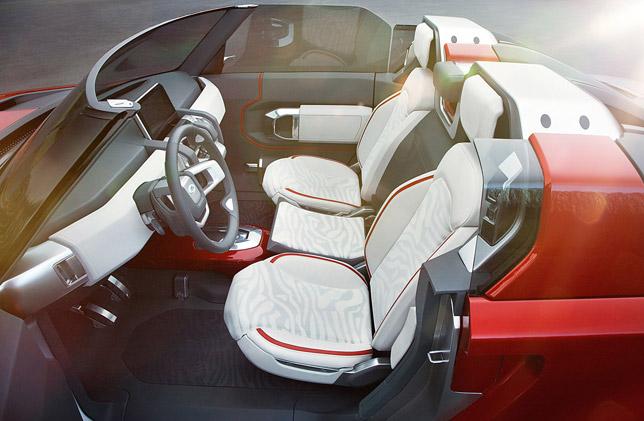 Land Rover Defender Concept 100 Sport Interior