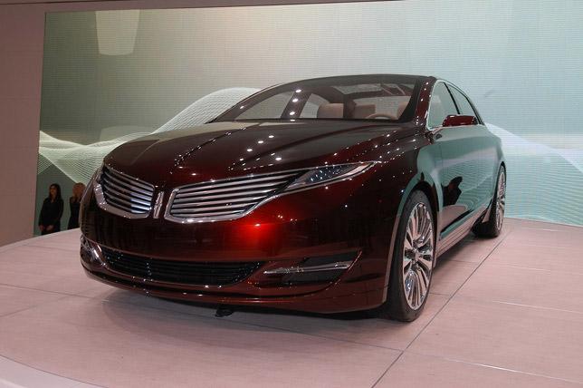 Lincoln MKZ Concept Detroit (2012)