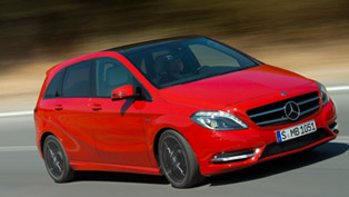 2012 Mercedes-Benz B 180 certified with less CO2 emissions