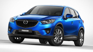 Mazda CX-5 with New-Generation SKYACTIV-D Diesel Engine