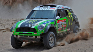 MINI All4 Racing Wins Dakar 2012