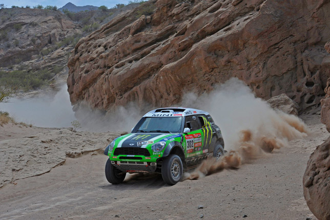 MINI ALL4 Racing wins Dakar_2012
