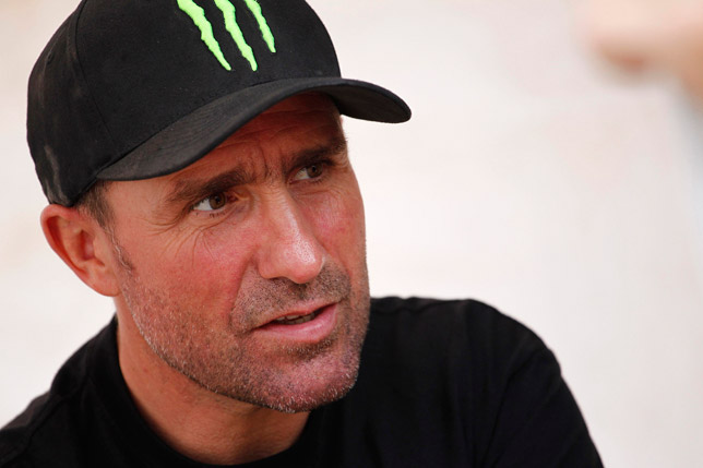 Stéphane Peterhansel the winner of Dakar 2012