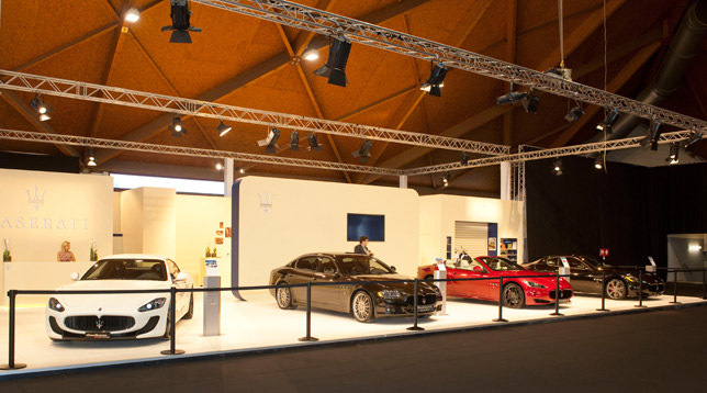 Maserati booth (Brussles)