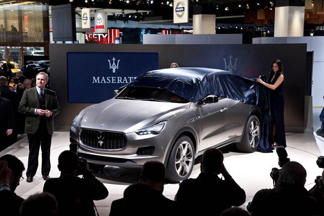 Maserati Kubang SUV Concept at 2012 NAIAS