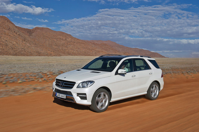 Mercedes-Benz ML-250 BlueTEC 4MATIC (2012)