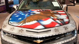 Chevrolet Camaro Military Tribute Auctioned - 175 000$