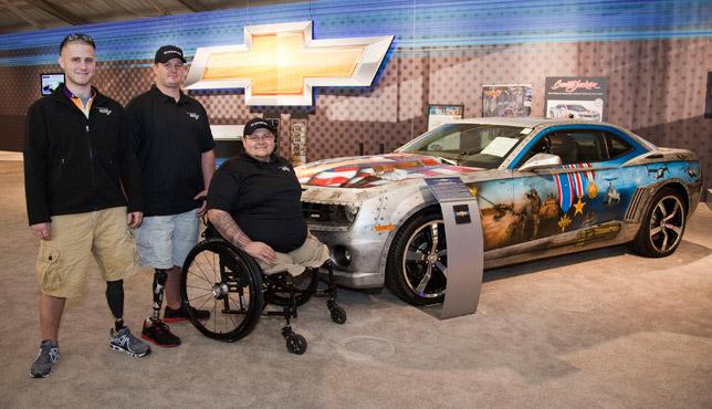 Chevrolet Camaro Military Tribute (2010)