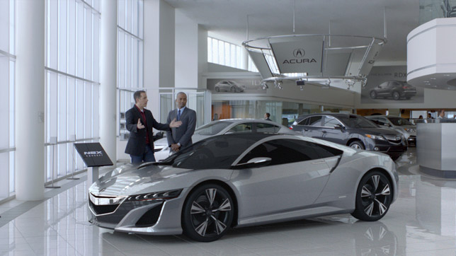 Acura Super Bowl Commercial