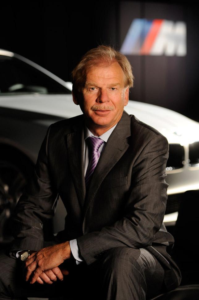 Dr. Friedrich Nitschke, Vice President BMW M GmbH