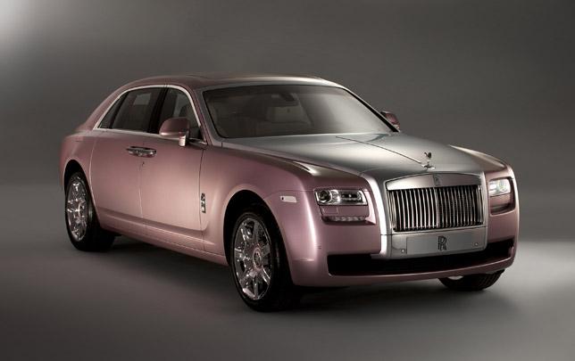 Rolls-Royce Rose Quartz Ghost