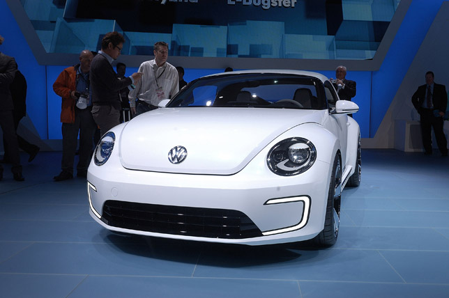 Volkswagen E-Bugster Concept at 2012 NAIAS in Detroit