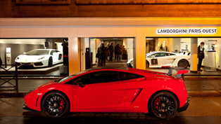 Lamborghini opens new dealership Lamborghini Paris Ouest
